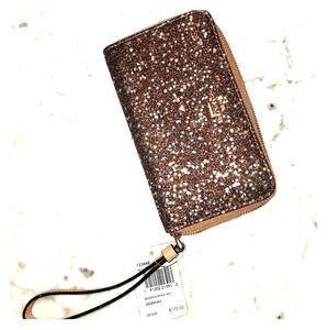 Coach wallet star glitter sparkle